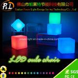 De Kleur die van het Meubilair van de slaapkamer Verlichte LEIDENE Lichte Kubus veranderen