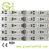 Hoge CRI 12V 12mm RGB LEIDENE van de Strook van PCB SMD 5050 Licht van de Staaf