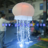 1,5 m de diamètre Ballons gonflables publicitaires lumière extérieure
