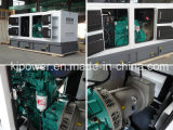 Cummins Diesel Engine의 150kVA Soundproof Generator Powered
