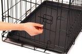 L'acier Black-Eletro-Coat Cage PET finies