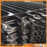 3개의 가로장 안전 말뚝 알루미늄과 강철 담