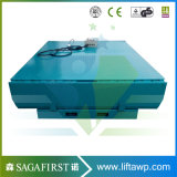 12т 14т 16т электрический гидравлический стационарный контейнер двор с плавным регулированием скорости