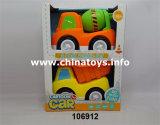 Kid brinquedo sentir plástico Construção Roda Cartoon carro (106912)