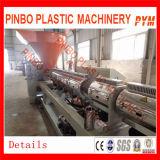 Film di materia plastica residuo che ricicla macchina