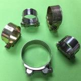 高圧ホース留め金のステンレス鋼のホースは強い高品質を切る