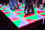suelo del panel de la danza del azulejo LED de la danza del 1*1m DMX