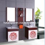 純木の浴室用キャビネットの純木の浴室の虚栄心(KD-432)