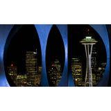 Красивейшие обои настенной росписи стены фотоего пейзажа Cityspace (BH3266)