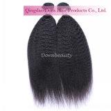 卸し売りバージンの毛の拡張ブラジルの人間の毛髪の織り方のヘアスタイル