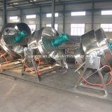 Inclinazione del rivestimento doppio che cucina POT per l'azienda di alimento