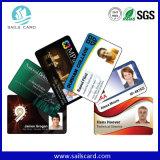 PVC do plástico ou cartão de papel da identificação do instante com ou sem o RFID