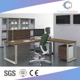 Châssis métallique de la mode du mobilier de bureau Table Forme de l Manager (SAM-MD1839)
