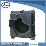 V3300-6によってラジエーターの小さいアルミニウムラジエーターのGensetのカスタマイズされるラジエーター