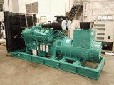 725kw는 Cummins Engine를 가진 유형 전력 디젤 엔진 발전기를 연다