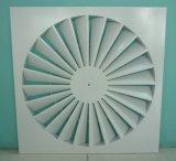 空気調節の部品の天井の渦巻のグリル