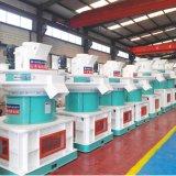 二重縦のリングは生物量の木製の餌機械を中国製停止する