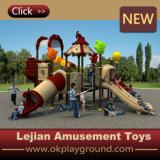 Оборудование спортивной площадки Plasitc детей высокого качества Ce напольное (X1507-1)