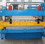 Rodillo de aluminio del panel del metal automático de Hydralic de la azotea de la pared que forma la máquina