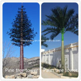 通信システムの工場価格のやし松の木のアンテナ鉄塔