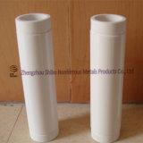 Tubo di ceramica dell'allumina poco costosa con tempo di impiego lungo