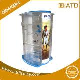 La pantalla de acrílico transparente de plástico personalizada Rose Urna