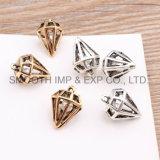 금속 다이아몬드 구렁 수정같은 보석은 DIY 부속품 목걸이 팔찌 펜던트를 꾸민다