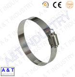 Fascetta stringituba di gomma galvanizzata acciaio del metallo della noce M10 di spessore 1.5mm