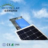 Fácil instalación 30W Todo-en-Uno LED Lámpara de calle solar integrada