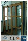 L'alluminio si è sporto profilo per la finestra di alluminio del portello