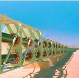 Leistungsstarkes Langes-Distance Curved Belt Conveyor für Sale
