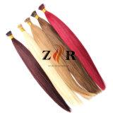 Vara da queratina eu derrubo a amostra natural do cabelo da extensão do cabelo disponível