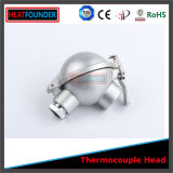 Cabeça de termopar de design novo isolável refratário para venda