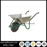 Carrinho de mão de roda de dobramento do trole do transporte do Wheelbarrow do vagão Wb6309