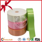 Papierkern-Verpackungs-Polyester-Satin-Farbband-Rolle