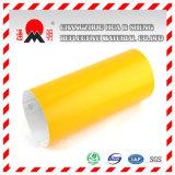 Материал желтой промышленной марки отражательный для предупредительных знаков знаков уличного движения дороги (TM7600)