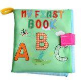 Libro de paño suave para bebés juguetes para el aprendizaje de los libros de bebé