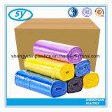Sac à ordures en plastique HDPE multicolore