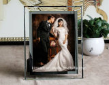 Home Decorationのための創造的なCrystal Glass Photo Frame Craft