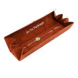 Особо сложный документ бархата подарочной упаковке ювелирных изделий с логотип