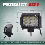 Barre automatique d'éclairage LED de pouce 36W IP68 du système de d'éclairage 4 tous terrains