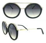 Óculos de sol 2016 redondos do produto novo do projeto de Italy para mulheres