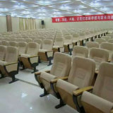 El asiento del auditorio del asiento del auditorio de la iglesia, sillas de la sala de conferencias aparta el asiento plástico del auditorio del asiento del auditorio de la silla del auditorio (R-6151)