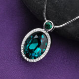 最新のデザイン水晶を向くことはAustrialの水晶が付いている宝石類のネックレスに玉を付ける