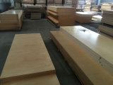 Madera contrachapada de bambú del Decking de la impermeabilidad al aire libre barata de WPC
