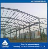 Большие Span стальные конструкции рамы склада