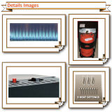 Calentador de gas de la llama azul del certificado del CE