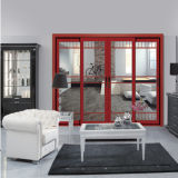 Decorativo excelente calidad Puerta de aluminio (FT-D126)