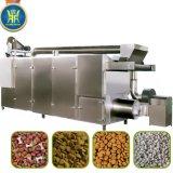 chaîne de fabrication jumelle d'aliment pour animaux familiers de boudineuse à vis