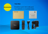 Tx5 직업적인 지능적인 텔레비젼 상자 Amlogic S905X 2g/16g Kodi에 의하여 당 설치되는 인조 인간 6.0 마시맬로 고정되는 최고 상자
